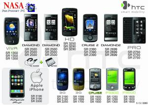 HTC Pocket PC Latest Prices for May 2009 in Saudi Arabia